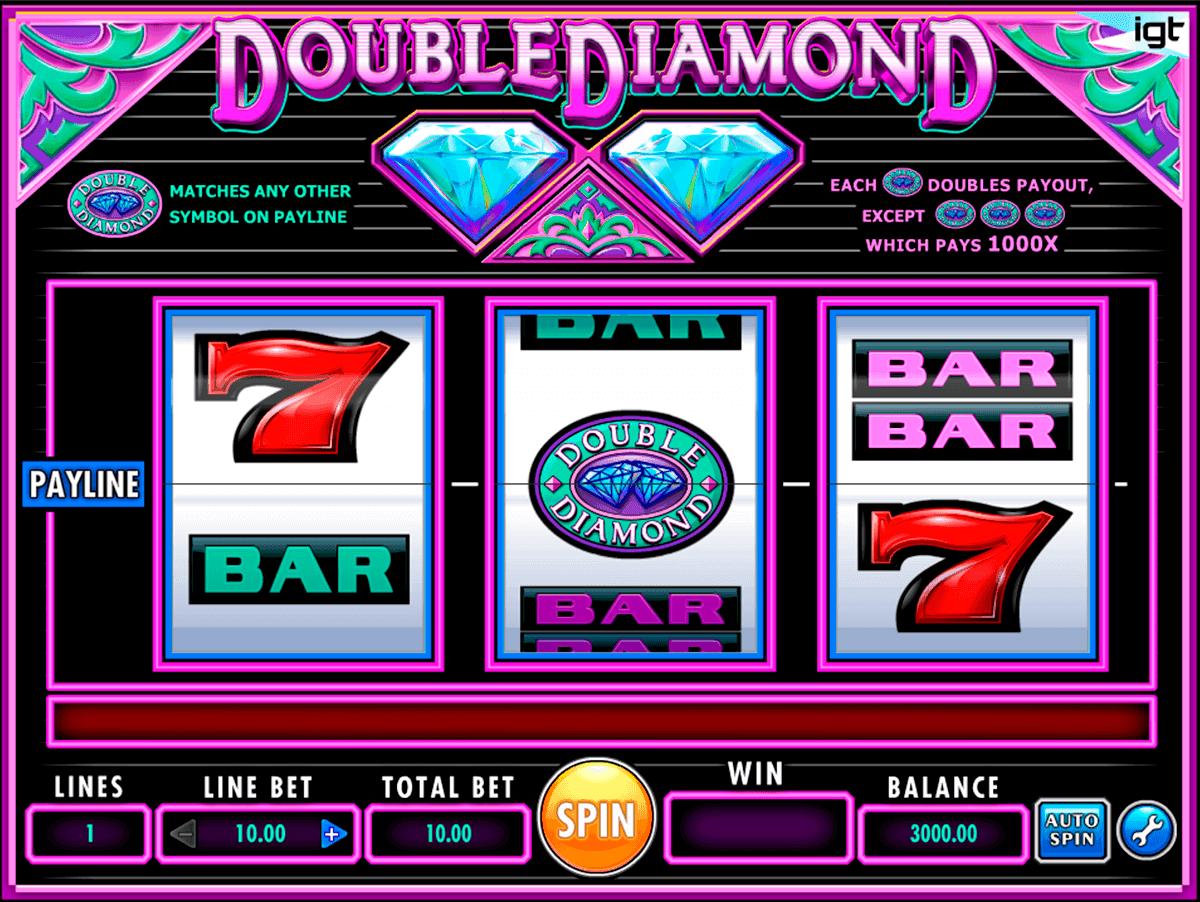 double diamond igt spelautomat