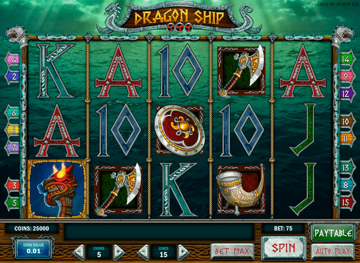 dragon ship playn go spelautomat