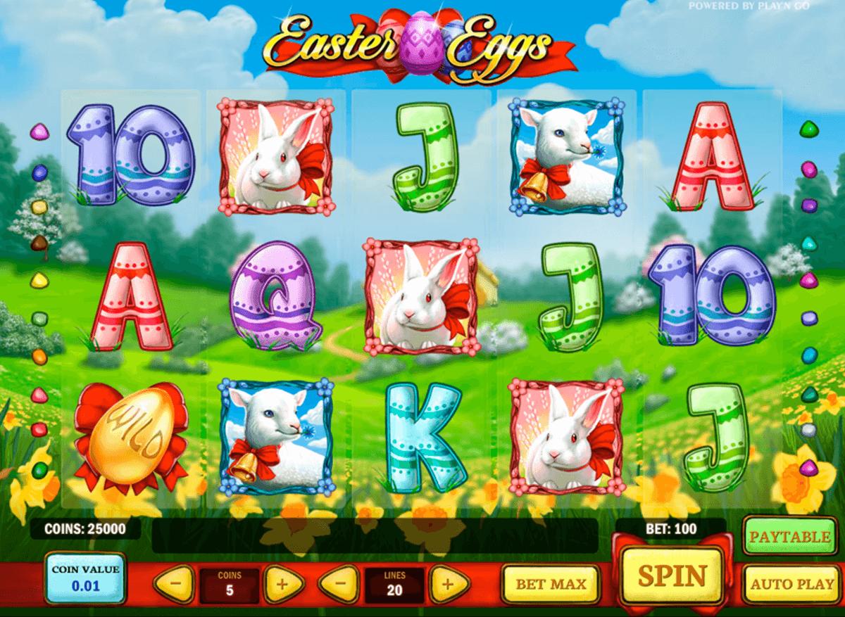 easter eggs playn go spelautomat