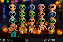 esqueleto eplosivo thunderkick spelautomat