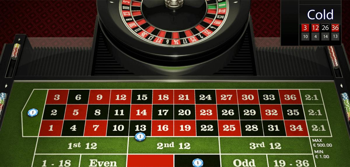 Spela europeisk roulette