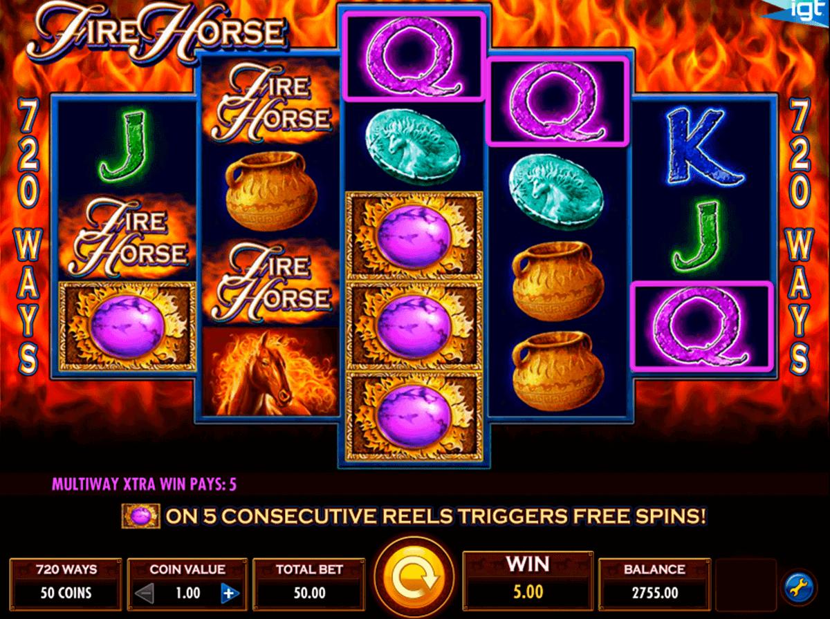 fire horse igt spelautomat
