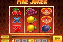 fire joker playn go spelautomat