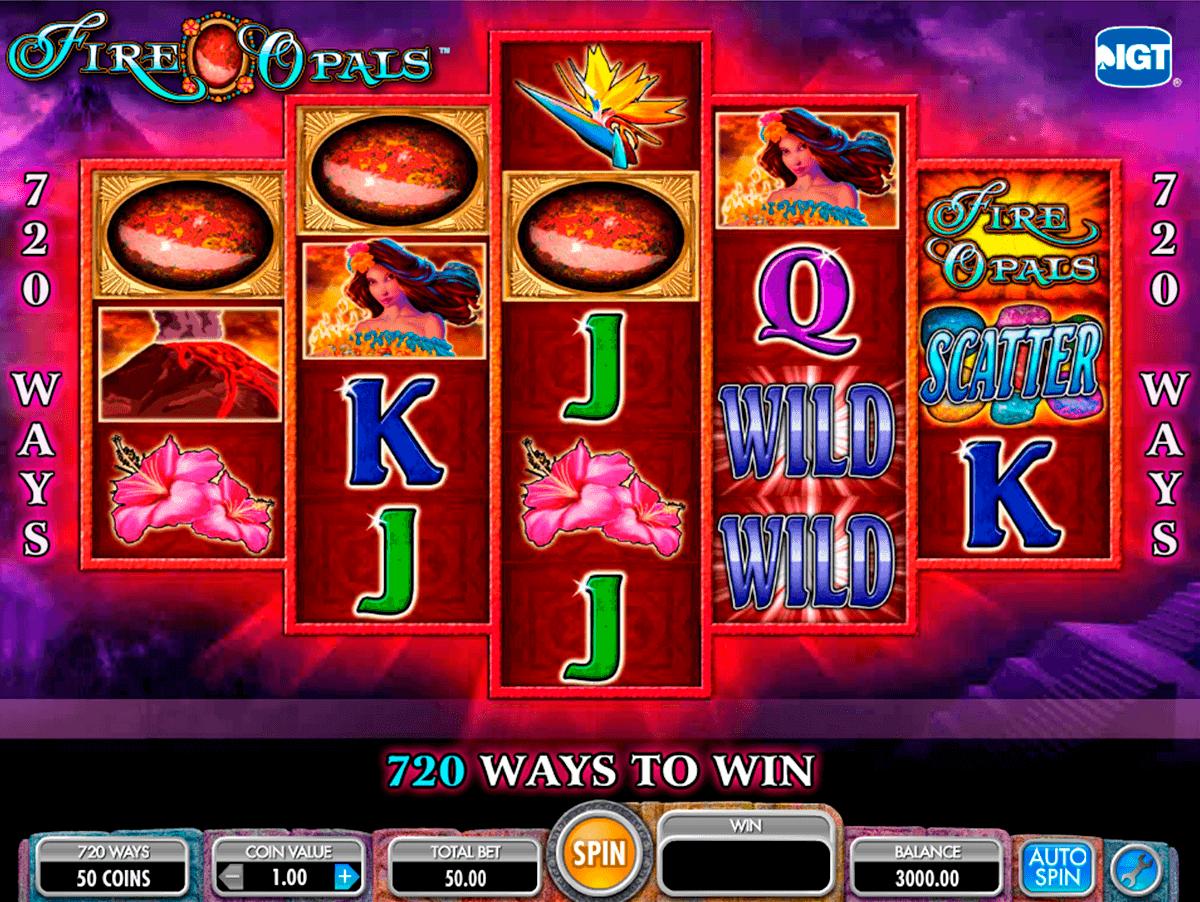 fire opals igt spelautomat