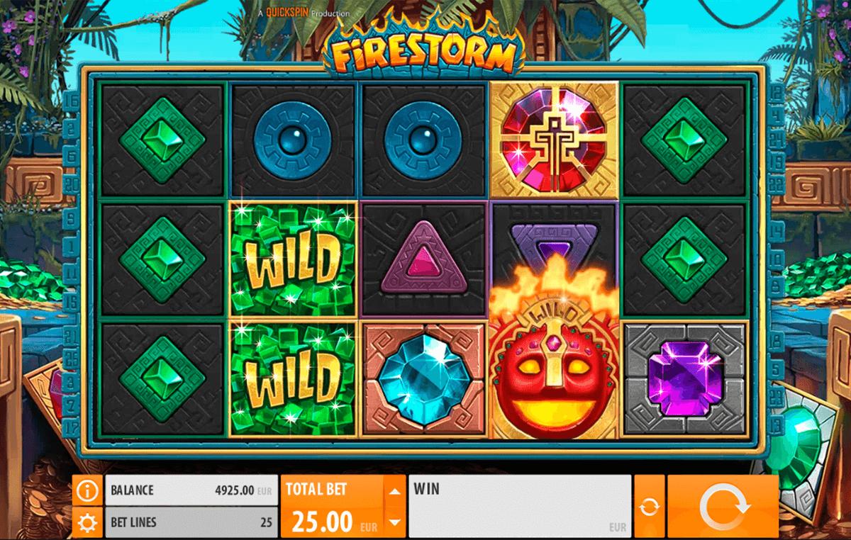 firestorm quickspin spelautomat