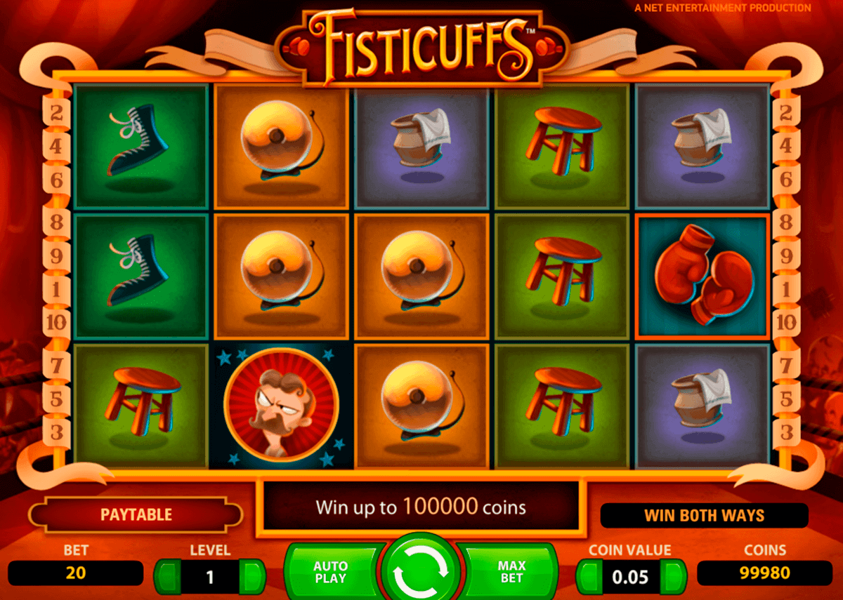 fisticuffs netent spelautomat