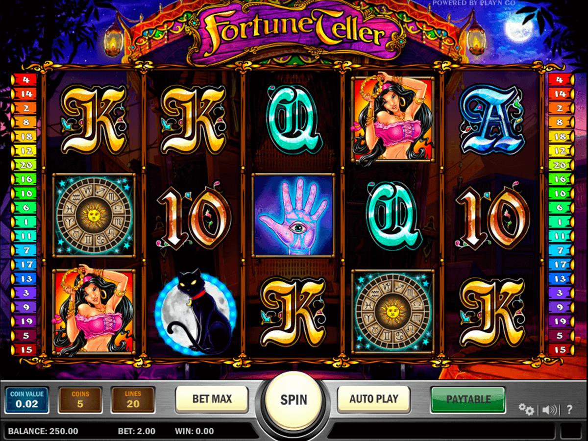 fortune teller playn go spelautomat