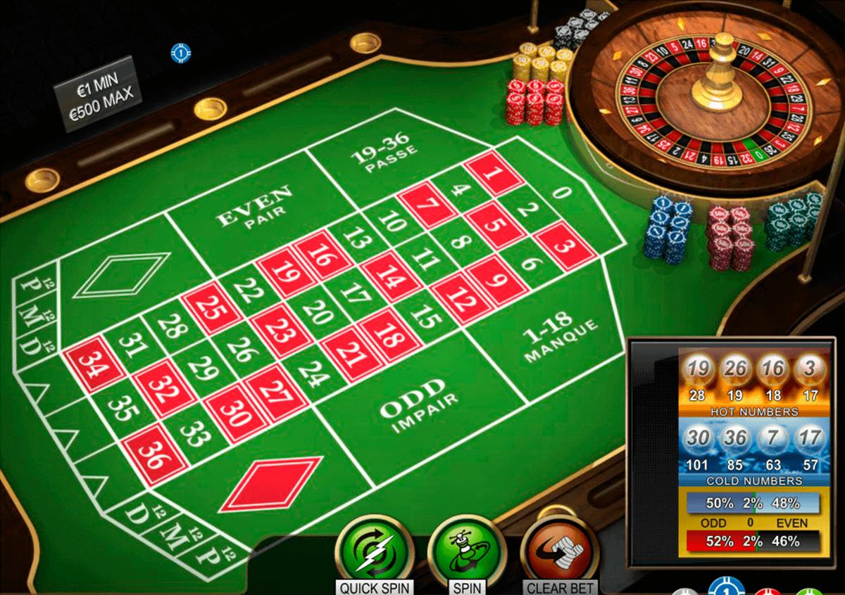 Spela Roulette Gratis Online