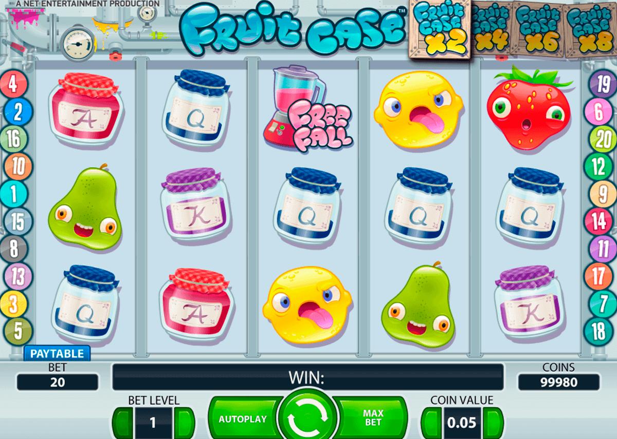 fruit case netent spelautomat