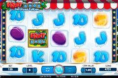 fruit shop christmas edition netent spelautomat