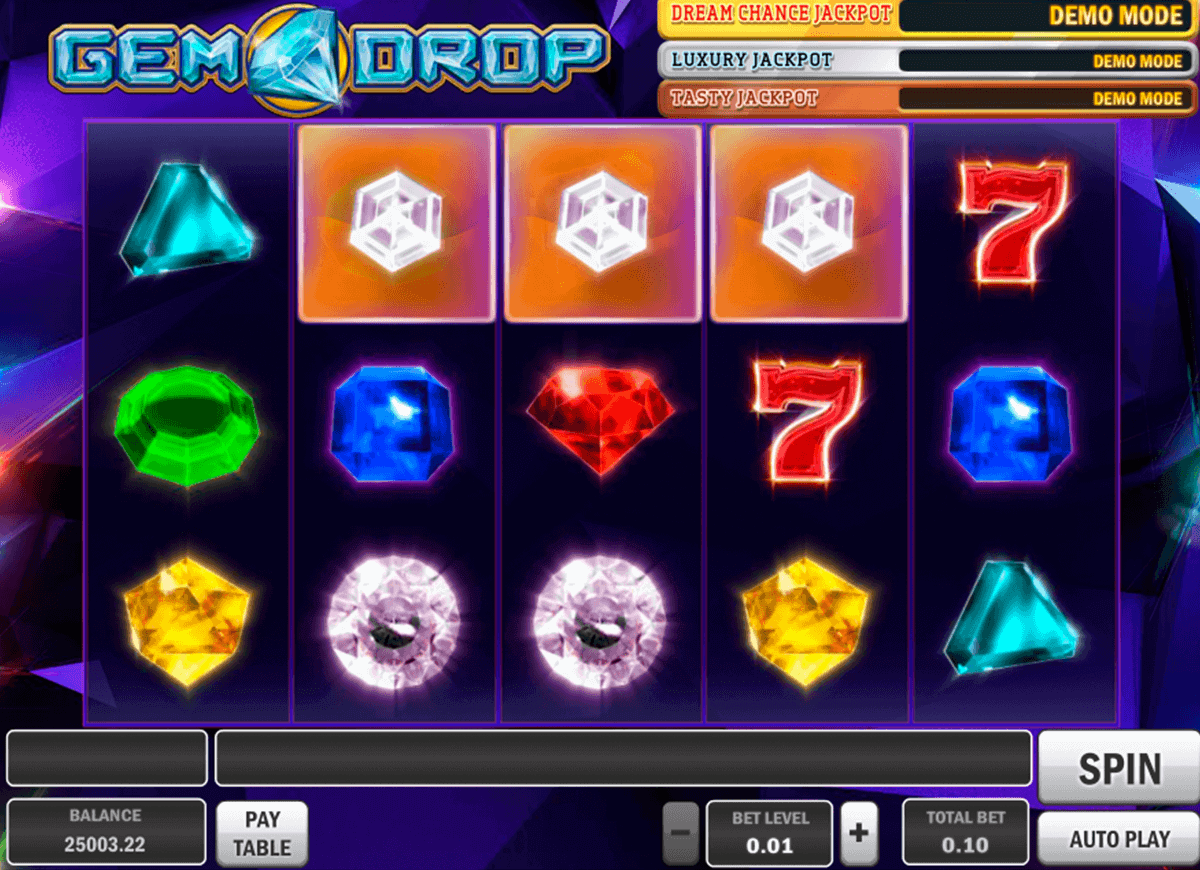 gem drop playn go spelautomat