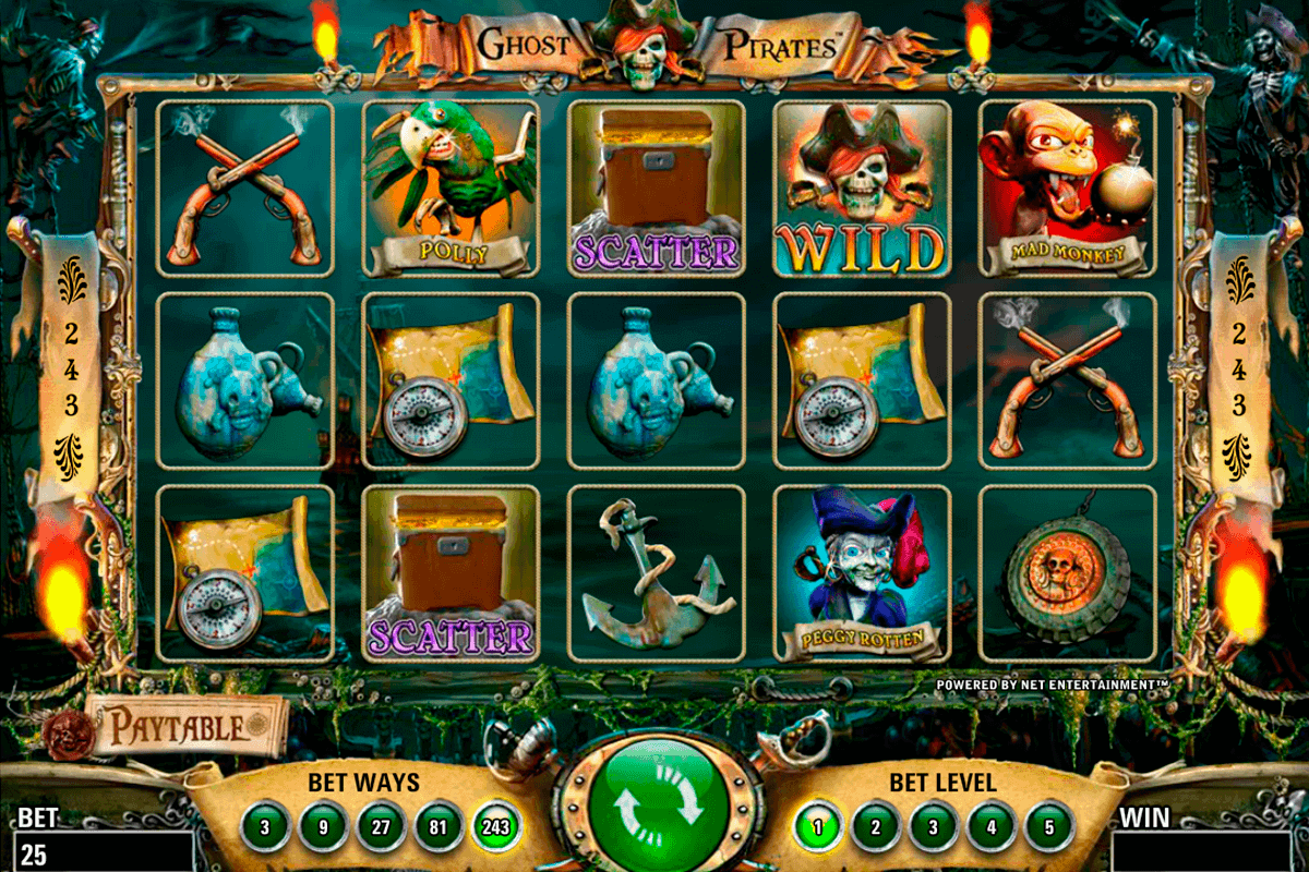 Ghost Pirates Slots - Spela Ghost Pirates gratis på nätet