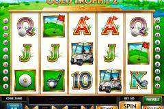 gold trophy  playn go spelautomat
