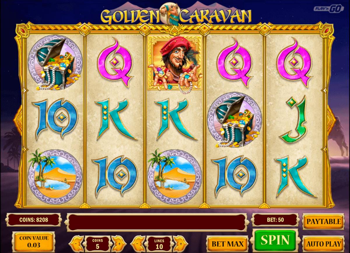 golden caravan playn go spelautomat
