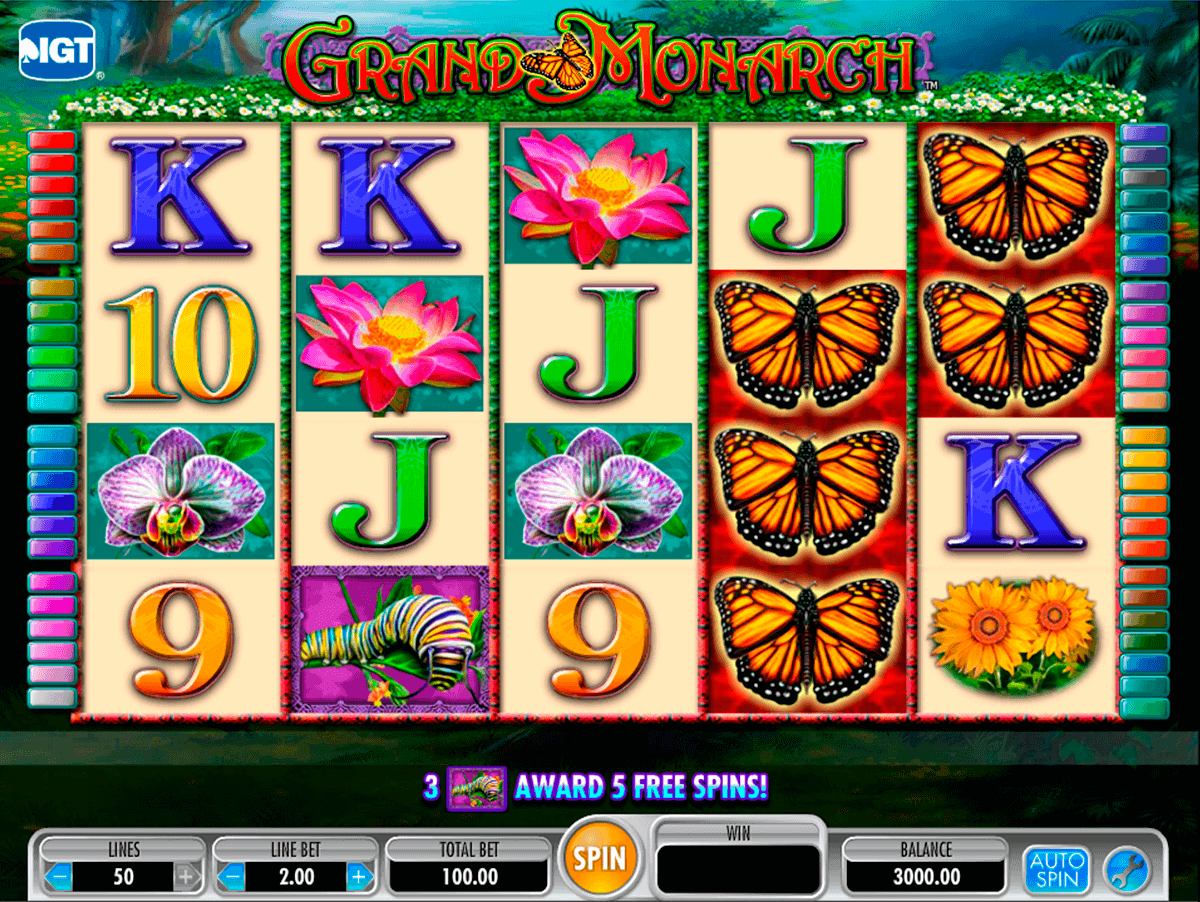 grand monarch igt spelautomat