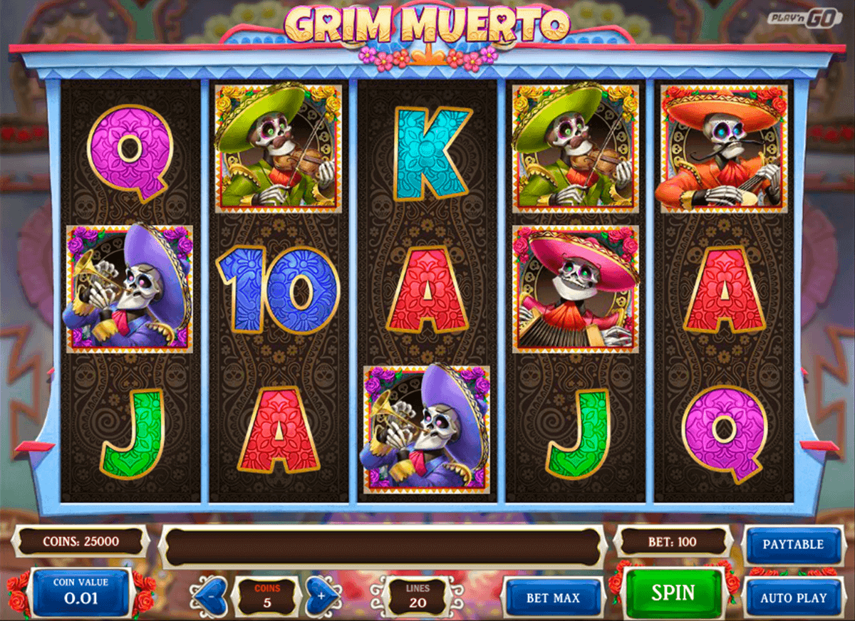 grim muerto playn go spelautomat