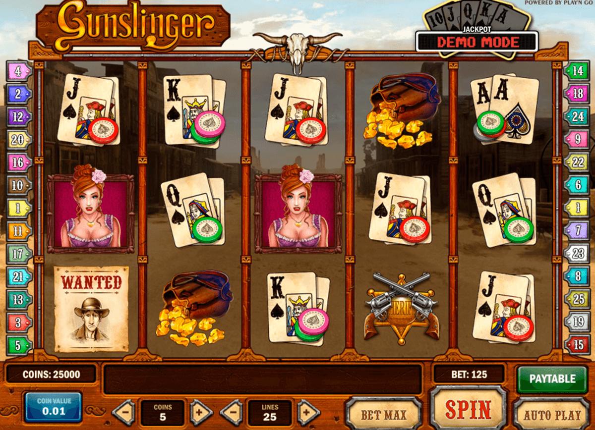 gunslinger playn go spelautomat