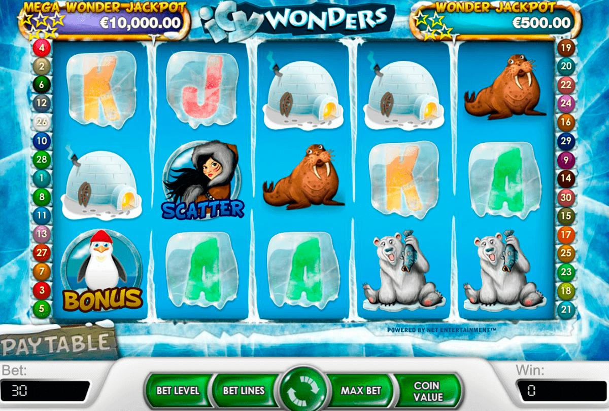 icy wonders netent spelautomat
