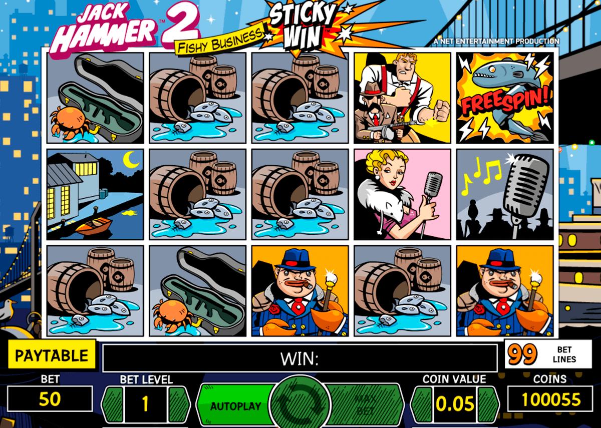 jack hammer 2 netent spelautomat