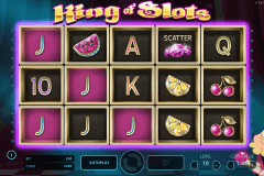 king of slots netent spelautomat