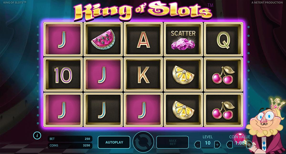 king of slots netent spelautomat
