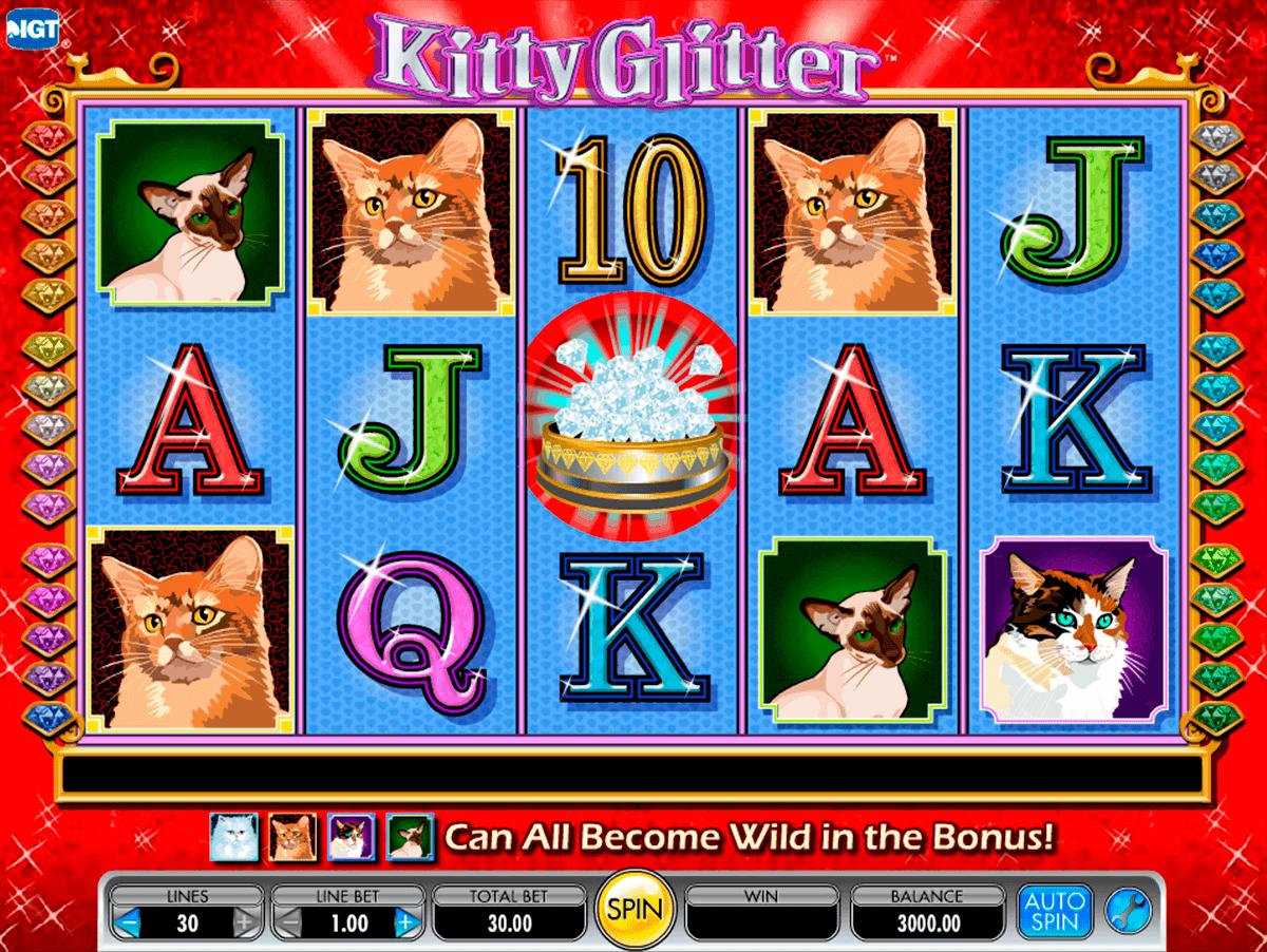 kitty glitter igt spelautomat