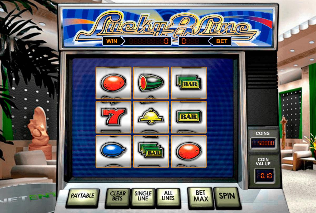 lucky  line netent spelautomat