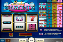 lucky diamonds playn go spelautomat