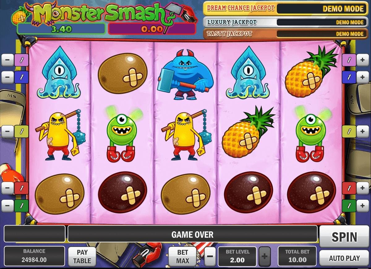 monster smash playn go spelautomat