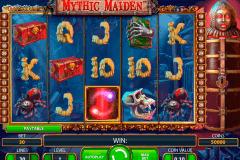 mythic maiden netent spelautomat