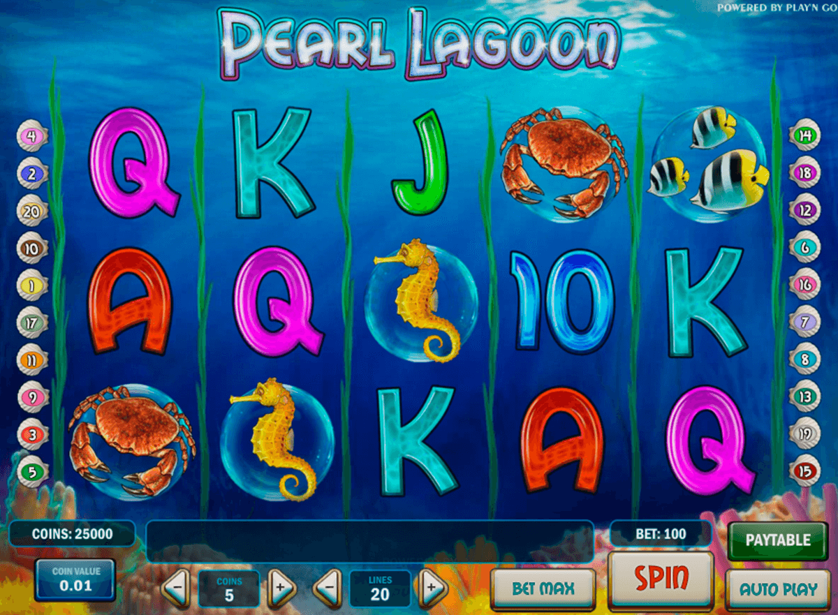 pearl lagoon playn go spelautomat