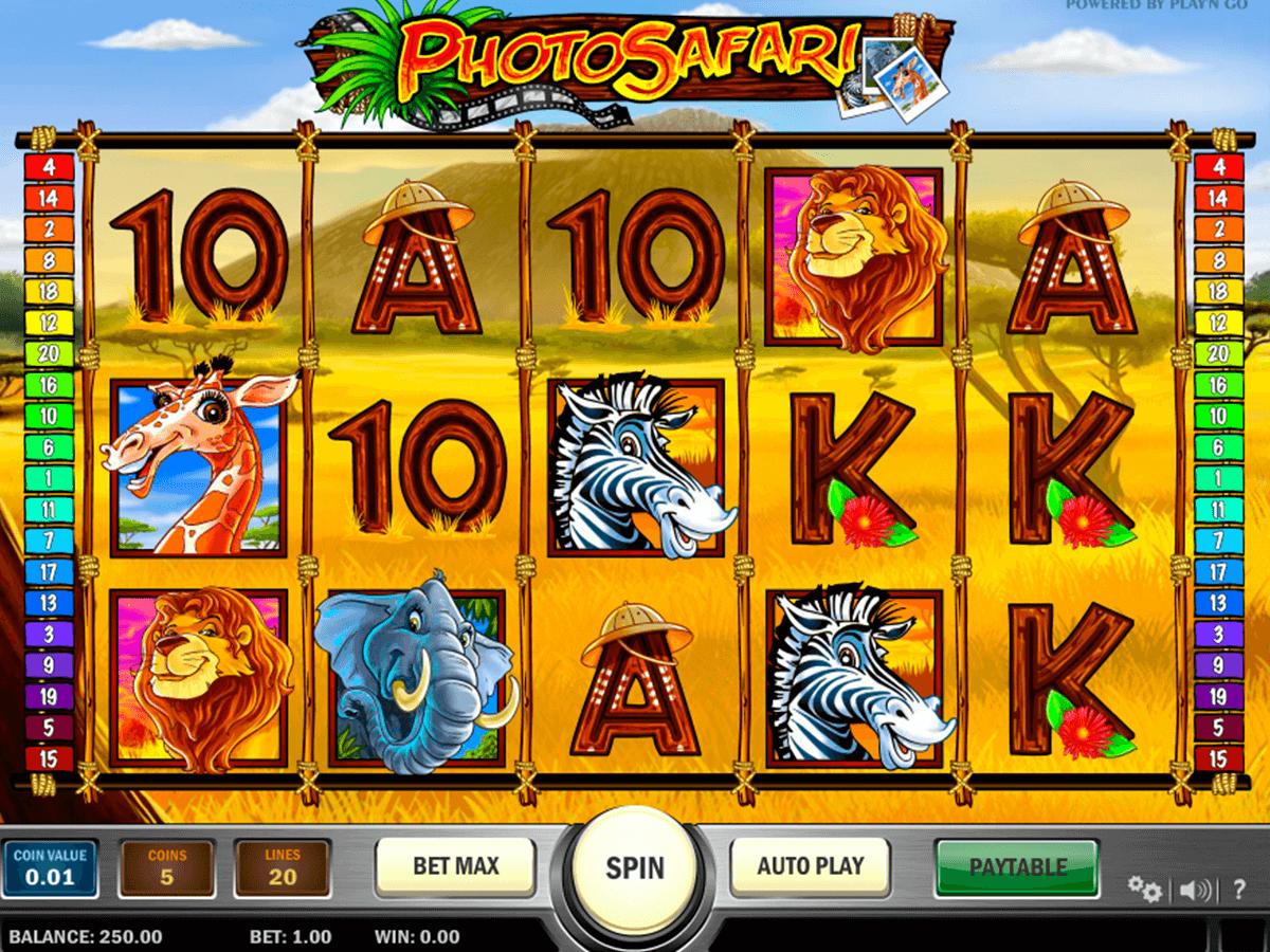 photo safari playn go spelautomat