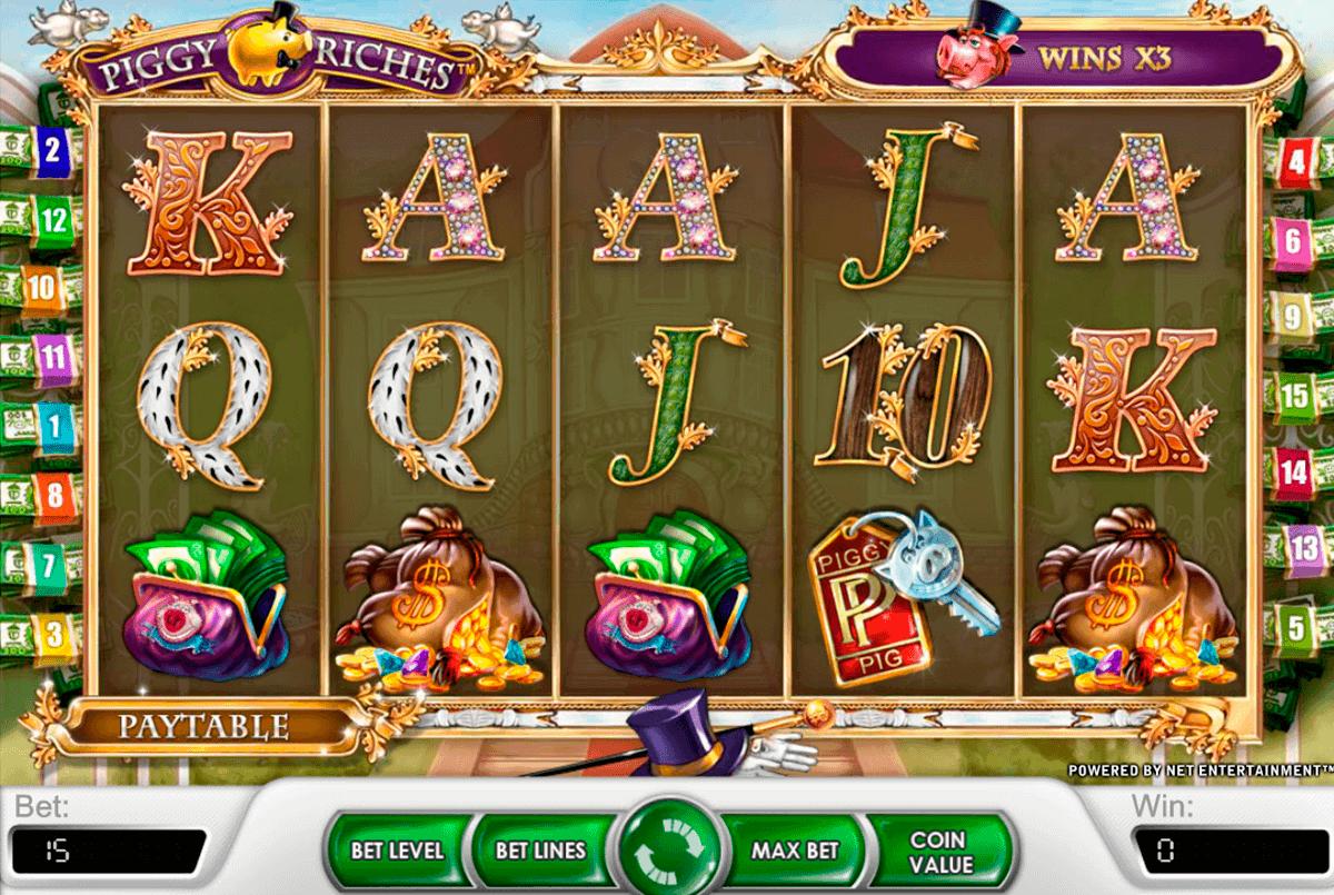 piggy riches netent spelautomat
