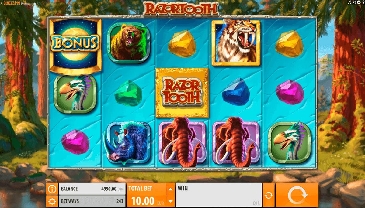 razortooth quickspin spelautomat