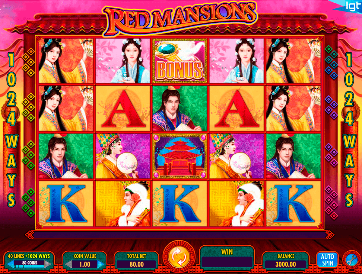 red mansions igt spelautomat