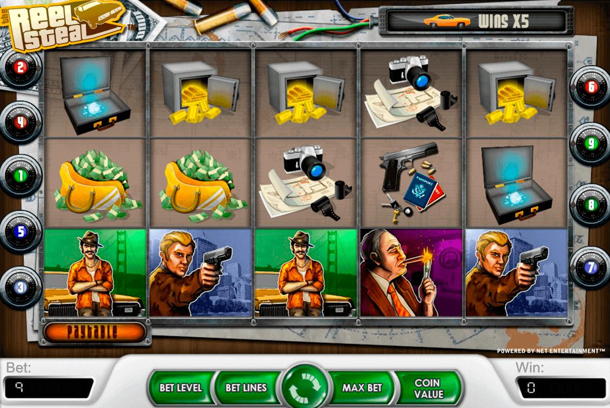 reel steal netent spelautomat