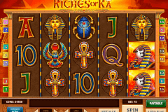 riches of ra playn go spelautomat