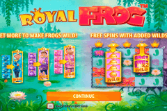 royal frog quickspin spelautomat