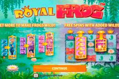 royal frog quickspin spelautomat