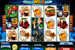 santas wild ride microgaming spelautomat