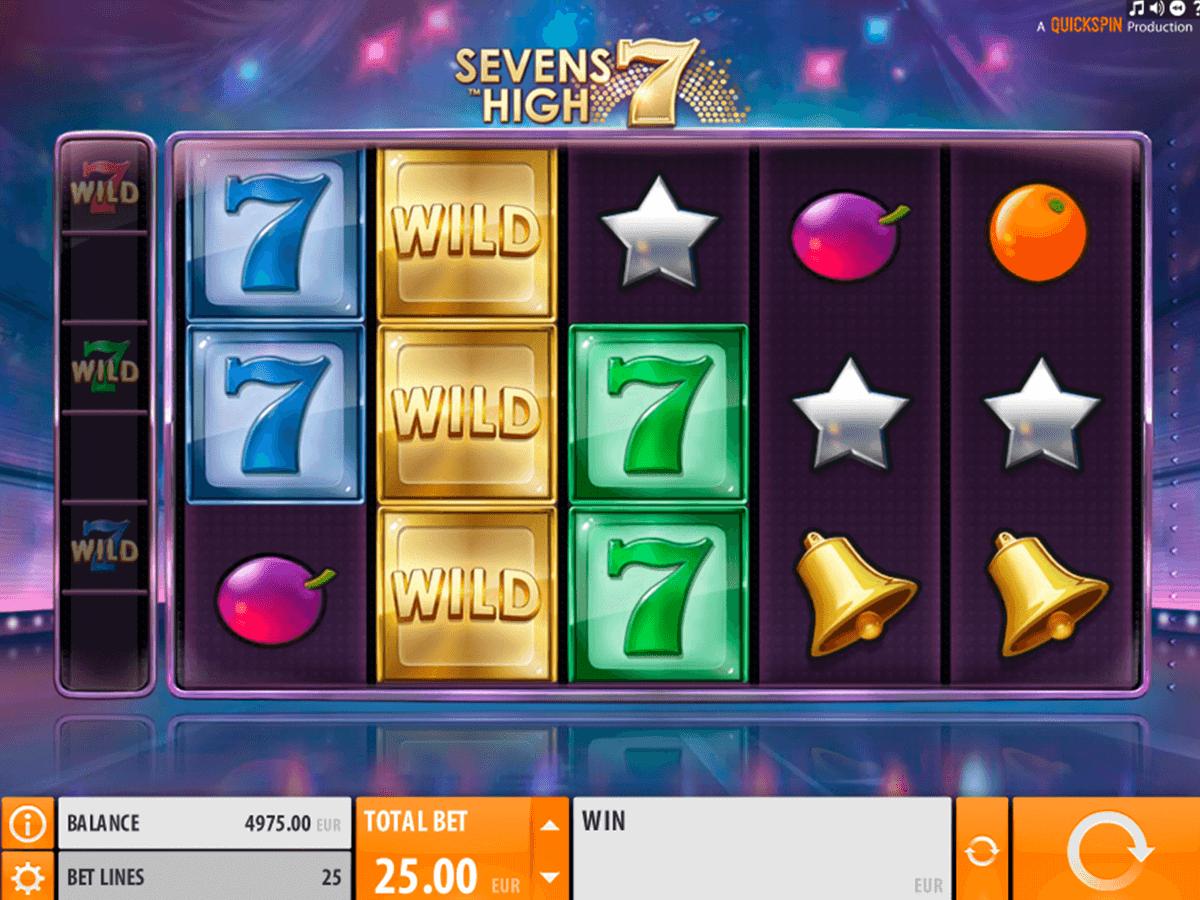 sevens high quickspin spelautomat