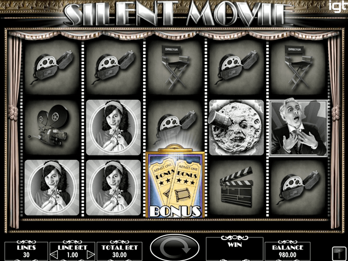 silent movie igt spelautomat