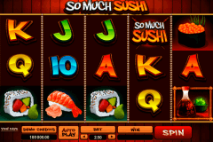 so much sushi microgaming spelautomat