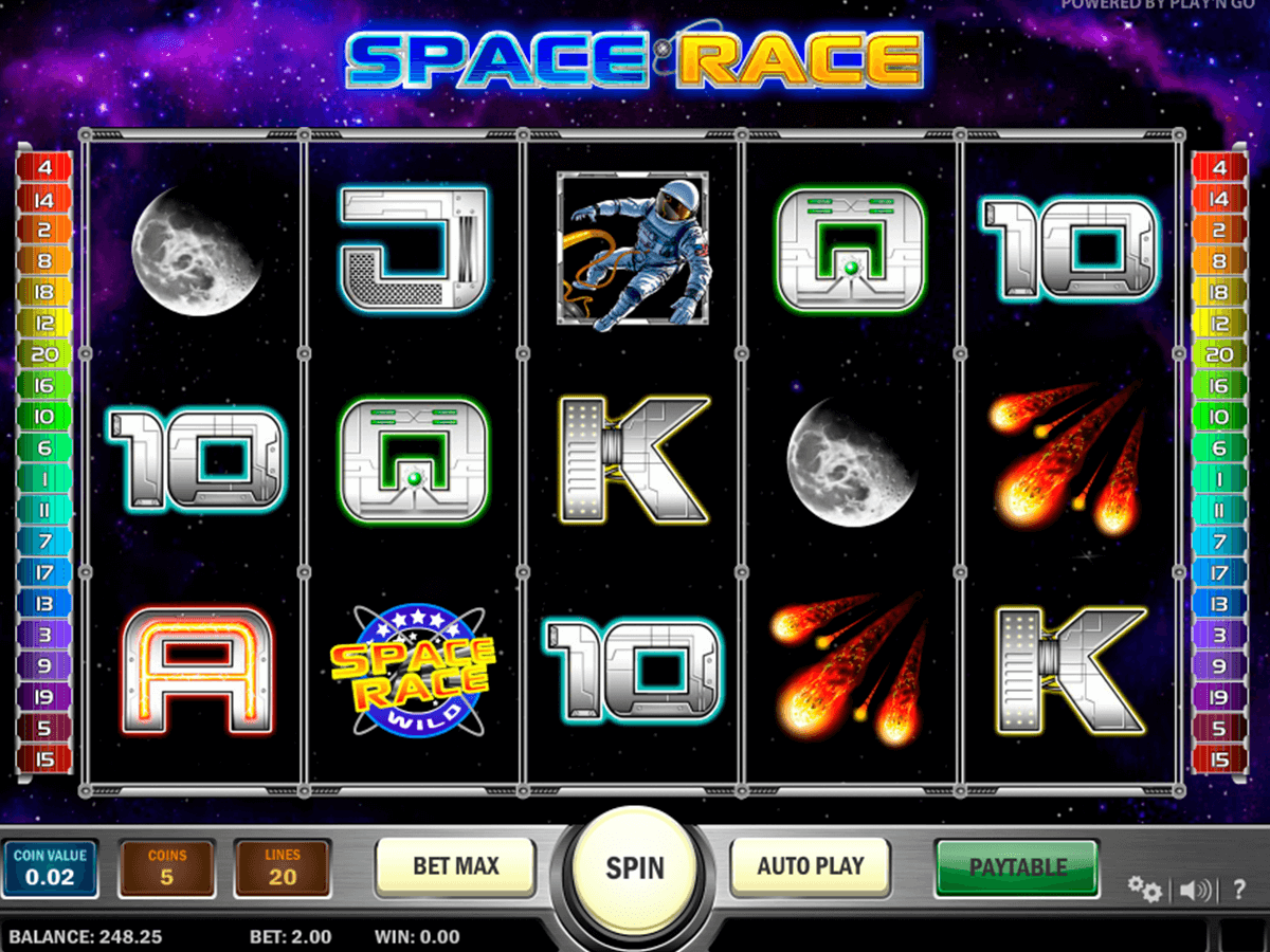 space race playn go spelautomat