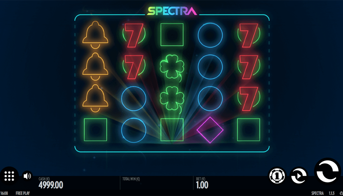 spectra thunderkick spelautomat