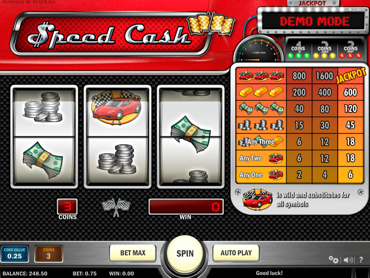 speed cash playn go spelautomat
