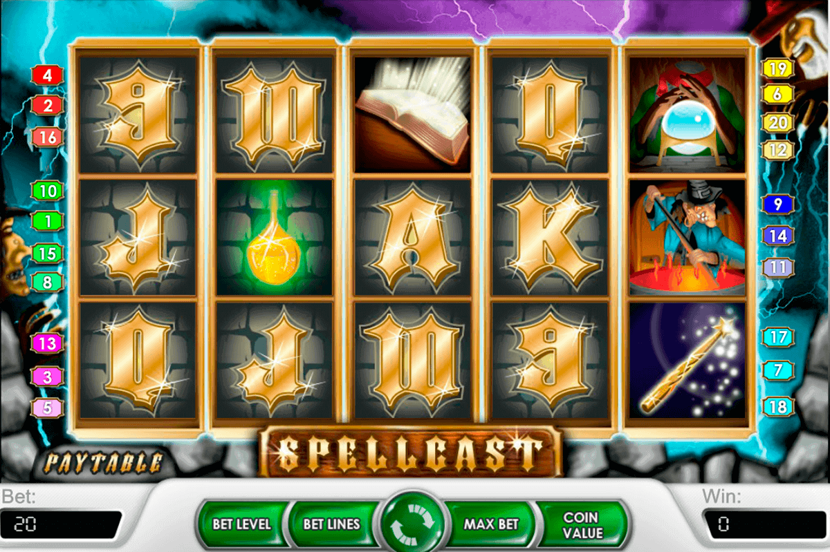 spellcast netent spelautomat