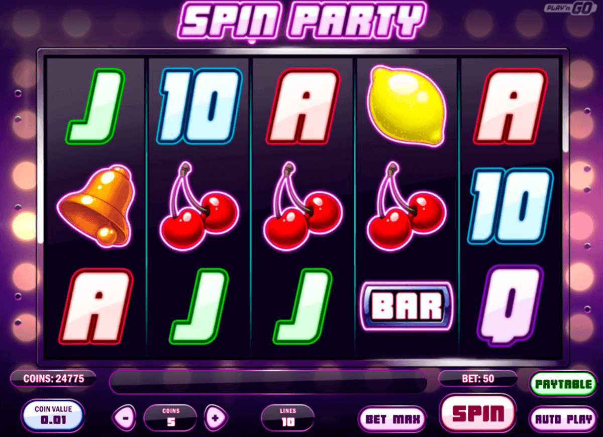 spin party playn go spelautomat