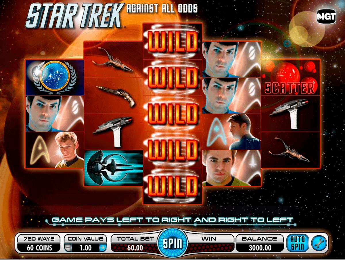 star trek against all odds igt spelautomat