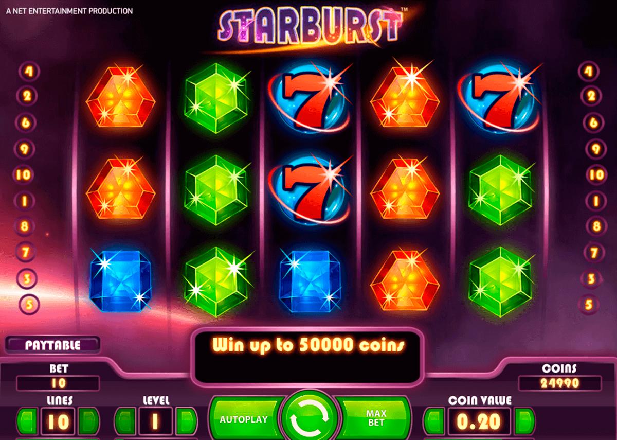 starburst netent spelautomat